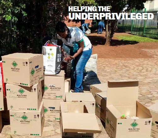 Multotec Cares - Paying it forward to the underprivileged in Tembisa