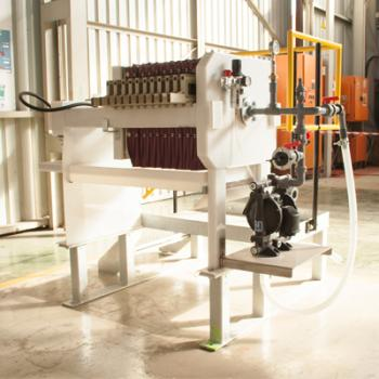 Multotec Provides a Small-Scale Filter Press For Industrial Water Treatment
