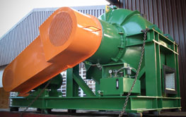 The sludge centrifuge or sludge dewatering centrifuge is part of this range.