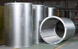 CIP/ CIL Interstage Screening of customised wedge wire cylinder screens.
