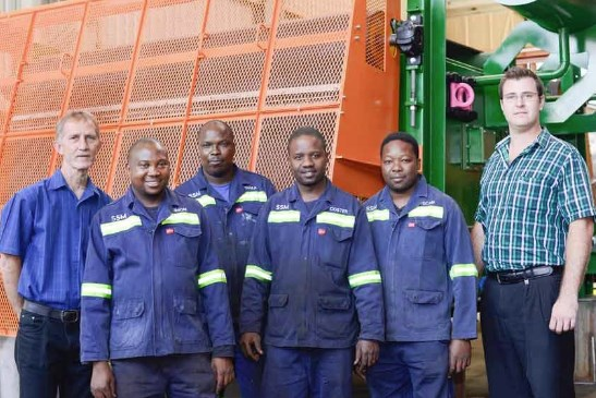 Multotec successfully delivers two overbelt magnets at a coal mining application in Mpumalanga