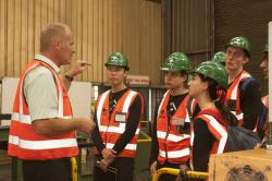 Canadian Students Gain Insight Into Manufacturing After Multotec Visit