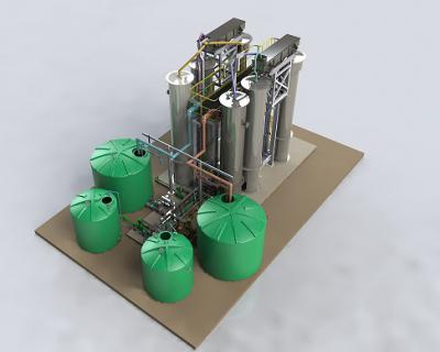 Continuous Ion Exchange Desalination Solution, DeSALx®