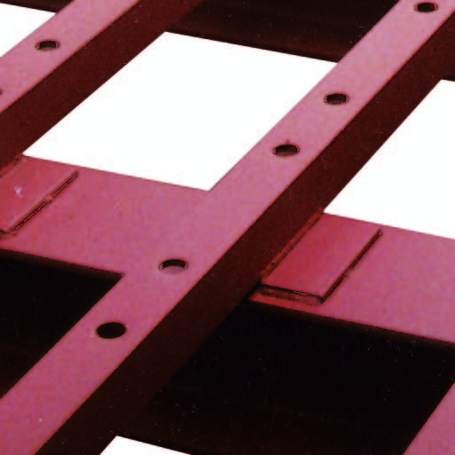 Welded & Huckbolted Runner Screen Sub Frames