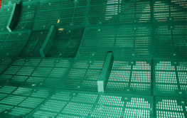 Mill and scrubber trommel screens from Multotec.
