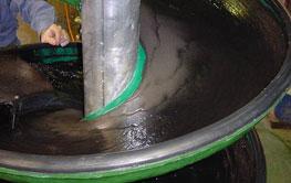 Multotec coal spirals have a fibreglass construction and polyurethane coating.