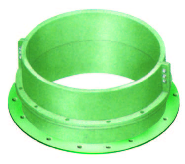 flotation wear components draft tube