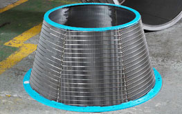 Centrifuge baskets for solid – liquid separation from industrial centrifuge.
